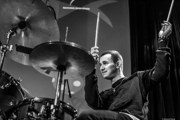 Dávid Hodek (2015) at Budapest Jazz Club.