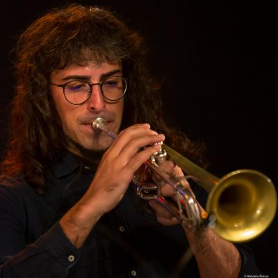 David Martínez (2018. Perico Sambeat's Don Ellis Tribute Ensemble)