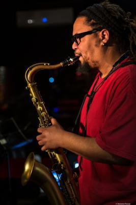 Dayna Stephens (2019) at Jimmy Glass Jazz Club. Valencia.