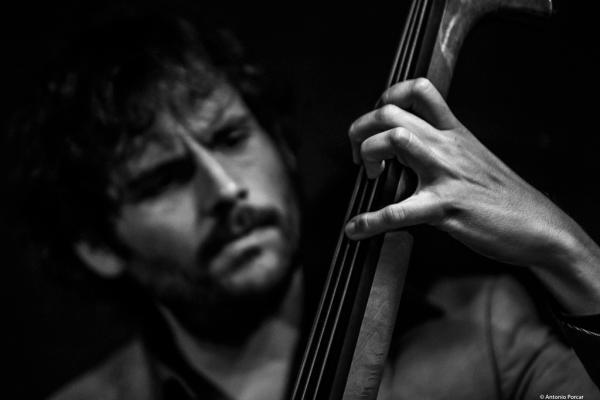 Dee Jay Foster (2018) in Jimmy Glass Jazz Club. Valencia.