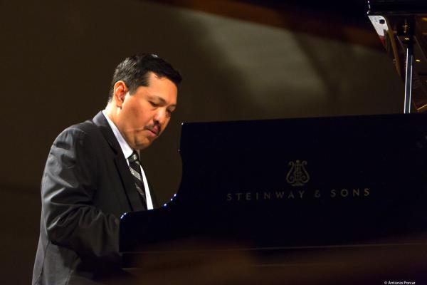 Donald Vega at Festival de Jazz de Valencia 2018.