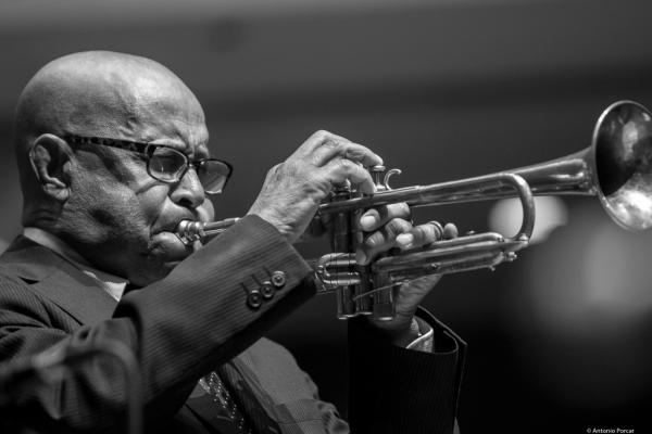 Eddie Henderson (2017) at Saint Peter's Church of NYC. Bobby Hutcherson Memorial