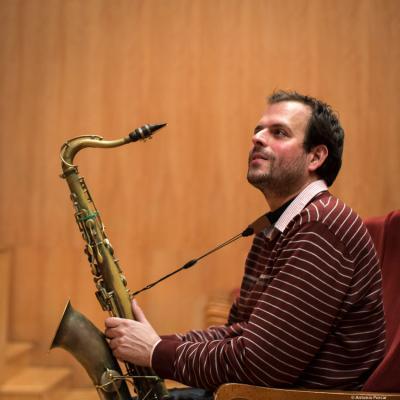 Enrique Oliver at Festival de Jazz MVA de Málaga 2018