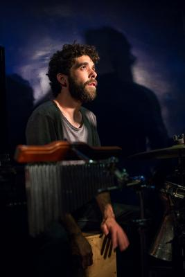 Epi Pacheco (2015) in Jimmy Glass Jazz Club. Valencia