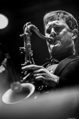 Eric Alexander at Providencia Jazz Festival 2018. Santiago de Chile.