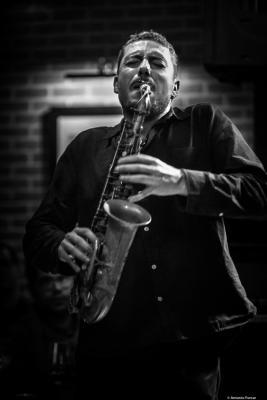 Ernesto Aurignac (2018) at Clarence Jazz Club. Málaga.