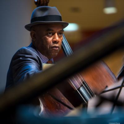 Essiet Okon Essiet (2017) in Saint Peter's Church of NYC. Bobby Hutcherson Memorial