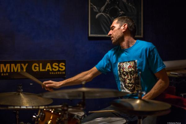 Esteve Pi (2017) at Jimmy Glass Jazz Club. Valencia