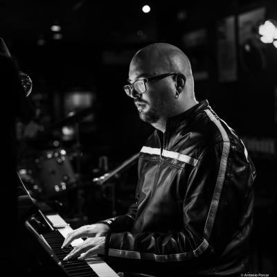 Ethan Iverson (2019) at Jimmy Glass Jazz Club. Valencia.