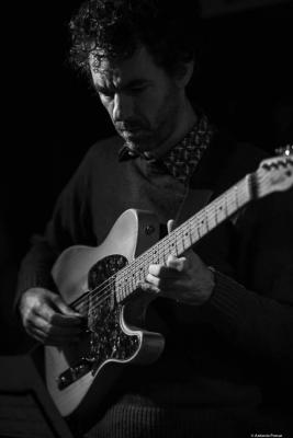 Federico Casagrande (2020) at Jimmy Glass Jazz Club. Valencia.
