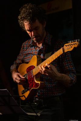 Federico Casagrande (2020) at Jimmy Glass Jazz Club. Valencia.