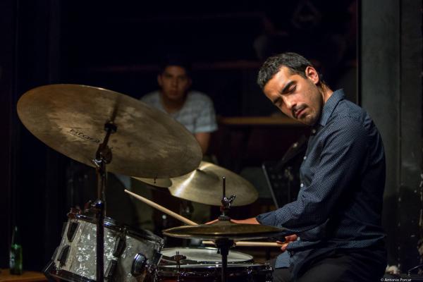 Félix Lecaros (2018) at Thelonious Jazz Club. Santiago de Chile.