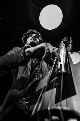 Félix Rossy (2019) at Jimmy Glass Jazz Club. Valencia.