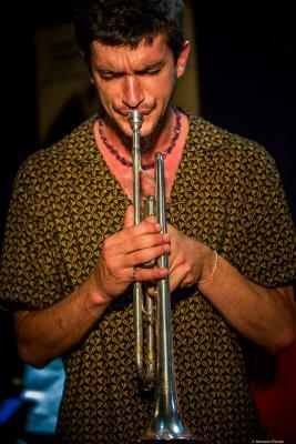 Félix Rossy (2018) at Jimmy Glass Jazz Club. Valencia.
