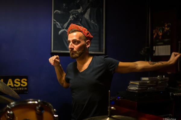 Francesco Ciniglio (2019) at Jimmy Glass Jazz Club. Valencia