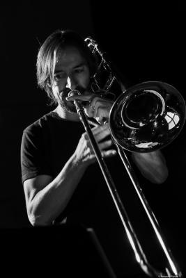 Francisco Soler (2018. Perico Sambeat's Don Ellis Tribute Ensemble)