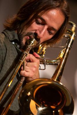 Francisco Soler (2019. Perico Sambeat's Don Ellis Tribute Ensemble)