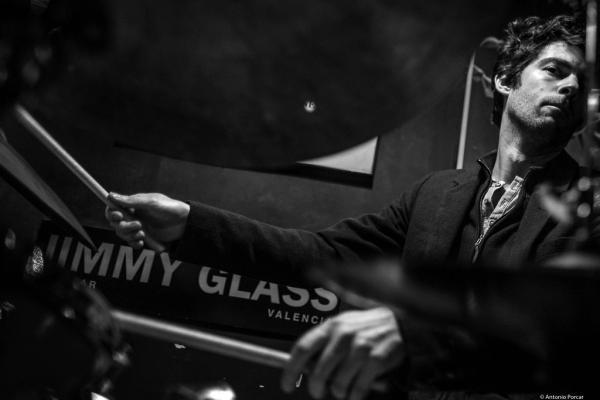 Gautier Garrigue (2014) in Jimmy Glass Jazz Club. Valencia