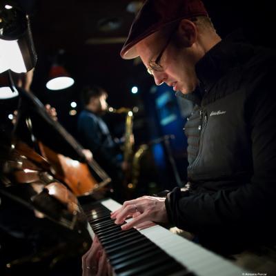 George Colligan (2018) at Jimmy Glass Jazz Club. Valencia.