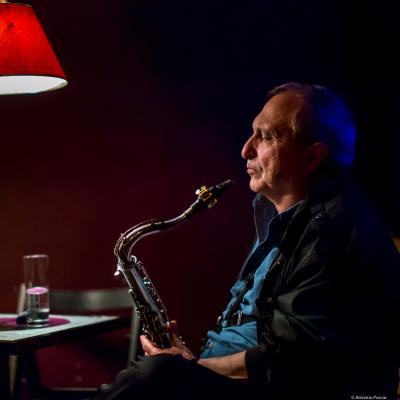 George Garzone (2018) at Jimmy Glass Jazz Club. Valencia.