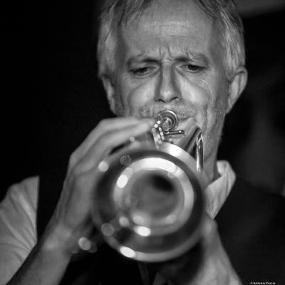 Gerard Kleijn (2017) at Jimmy Glass Jazz Club. Valencia.