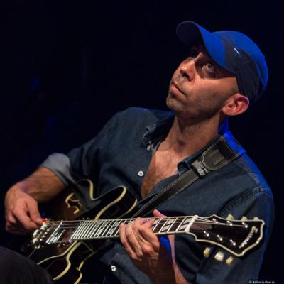 Giuliano Modarelli in Jazzinec 2017. Trutnov.