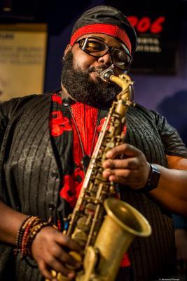 Godwin Louis (2017) at Jimmy Glass Jazz Club. Valencia.