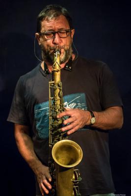 Gorka Benítez (2017) at Jimmy Glass Jazz Club. Valencia.