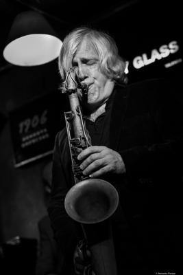 Grant Stewart (2018) at Jimmy Glass Jazz Club. Valencia.