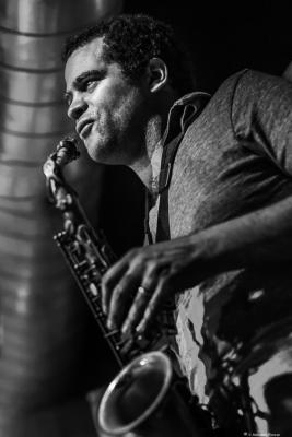 Greg Ward II (2018) at Jazz Dock. Prague.