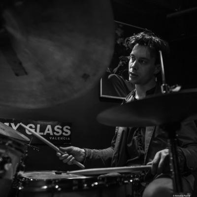 Guilhem Flouzat (2019) at Jimmy Glass Jazz Club. Valencia.