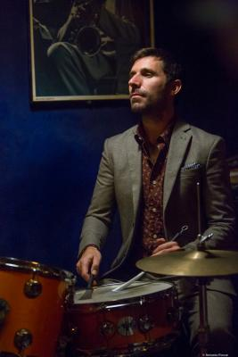 Guillem Arnedo (2017) at Jimmy Glass Jazz Club. Valencia.