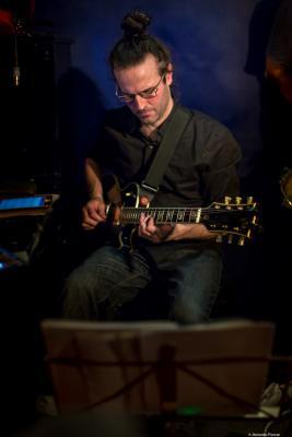 Guillermo Celano (2017) at Jimmy Glass Jazz Club. Valencia.
