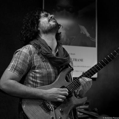 Ivan Cebrian (2015) in Jimmy Glass Jazz Club. Valencia