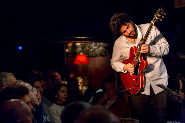 Ivan Cebrian (2018) at Jimmy Glass Jazz Club. Valencia