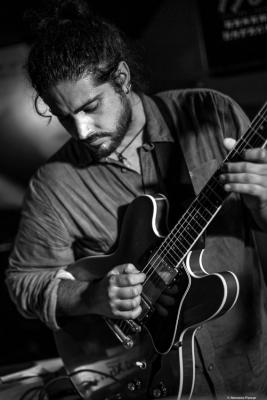 Ivan Cebrian (2017) at Jimmy Glass Jazz Club. Valencia