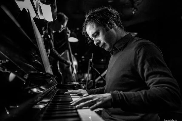 ​Ivo Neame (2018) at Jimmy Glass Jazz Club. Valencia.