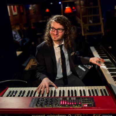 Jacob Sacks (2017) at Jimmy Glass Jazz Club. Valencia.