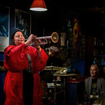 Jaimie Breezy Branch (2019) at Jimmy Glass Jazz Club. Valencia.