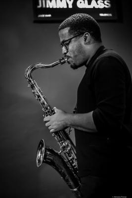 James Brandon Lewis (2019) at Jimmy Glass Jazz Club. Valencia