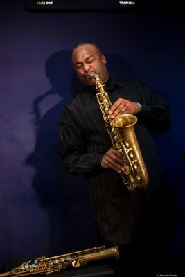 James Carter (2018) at Jimmy Glass Jazz Club. Valencia.