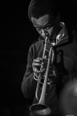 Jason Palmer (2019) at Jimmy Glass Jazz Club. Valencia