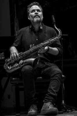 Jason Rigby at Festival de Jazz de Valencia 2017.