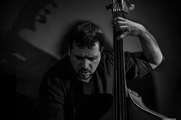 Javier Moreno (2019) at Jimmy Glass Jazz Club. Valencia.