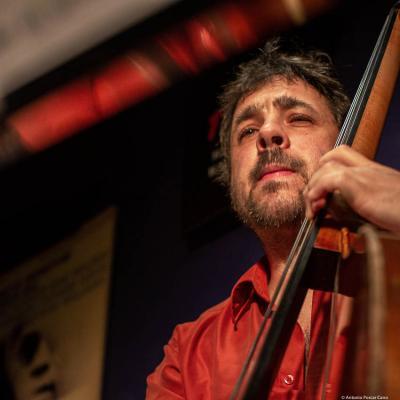 Javier Moreno (2020) at Jimmy Glass Jazz Club. Valencia.
