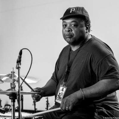 "Jeff ""Tain"" Watts in Getxo Jazz 2015."