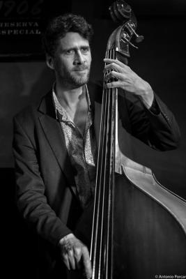 Jeremy Brown (2015) in Jimmy Glass Jazz Club. Valencia.