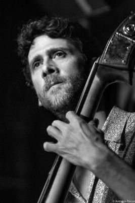 Jeremy Brown (2015) in Jimmy Glass Jazz Club. Valencia.