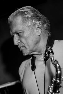 Jerry Bergonzi (2016) in Jimmy Glass Jazz Club. Valencia