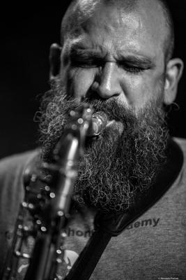 Jesús Santandreu (2017)  in Jimmy Glass Jazz Club. Valencia.